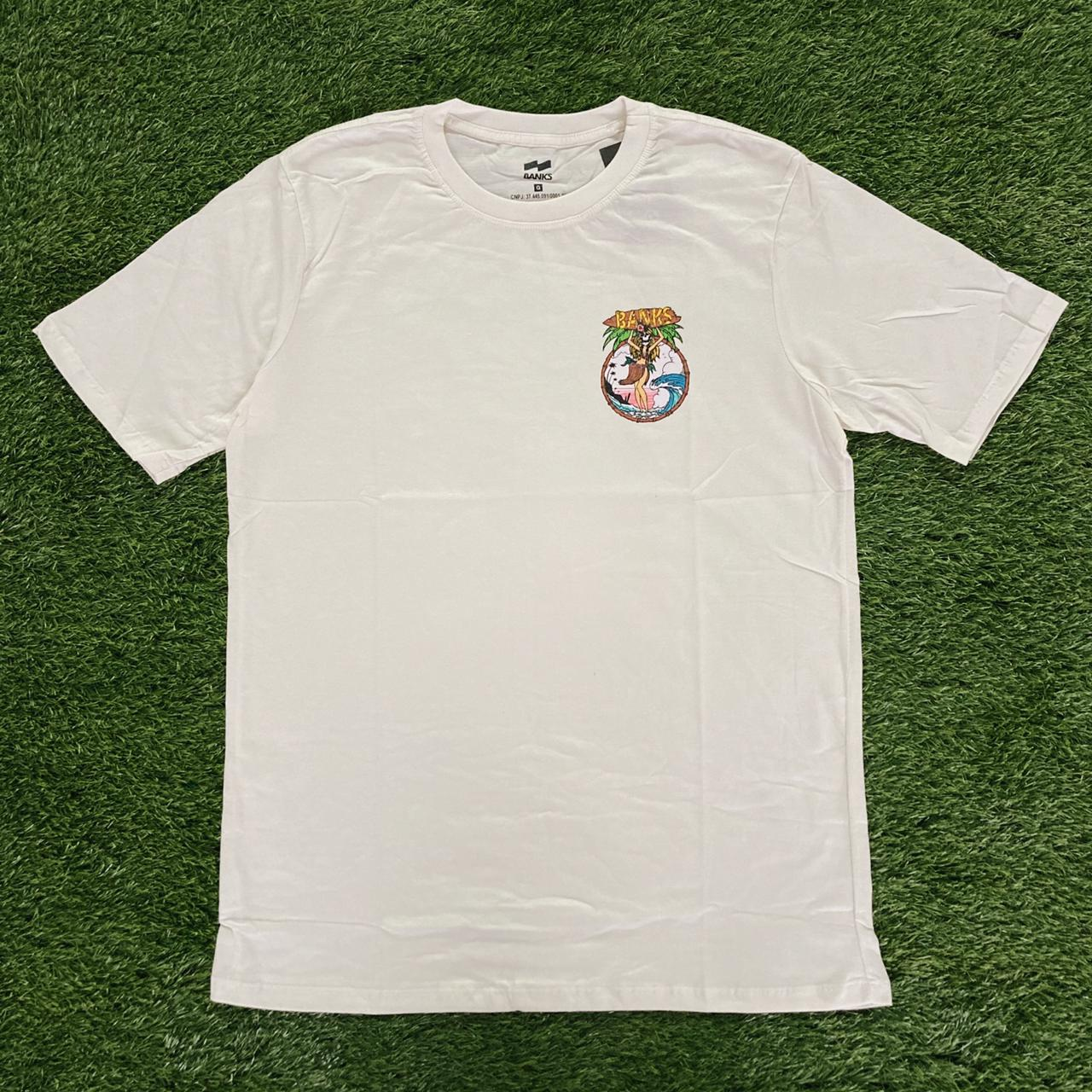 Camiseta banks cav havaiana creme