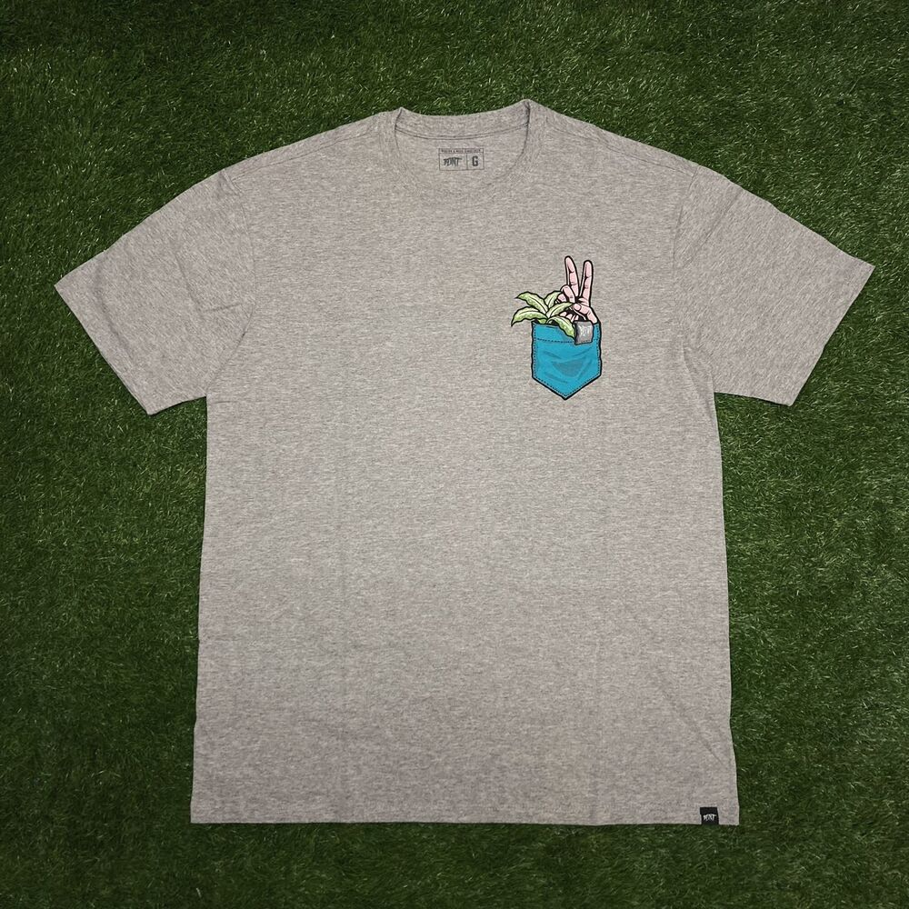 Camiseta blunt pocket cinza 3187