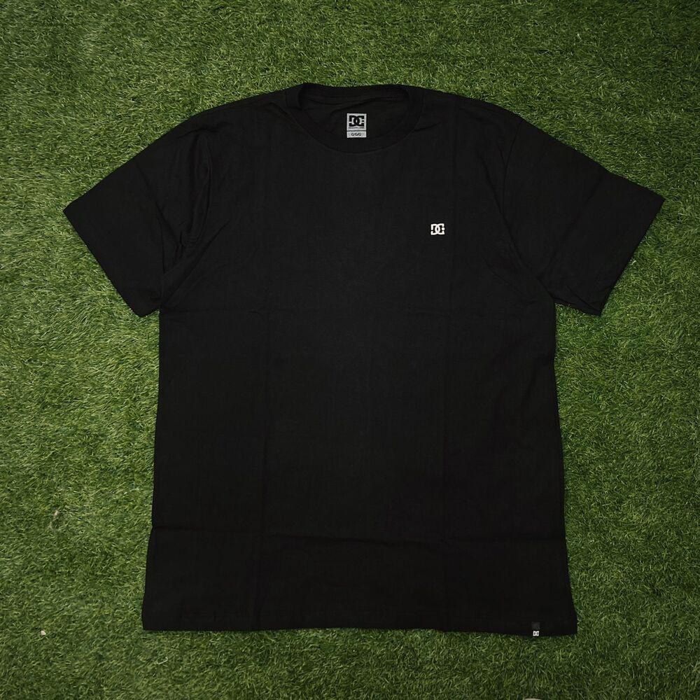 Camiseta dc embroidery star preta 0261
