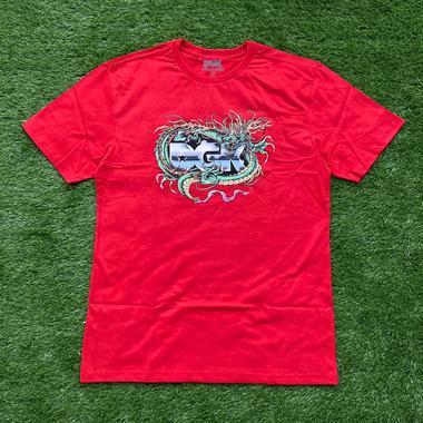 camiseta dgk black metak red