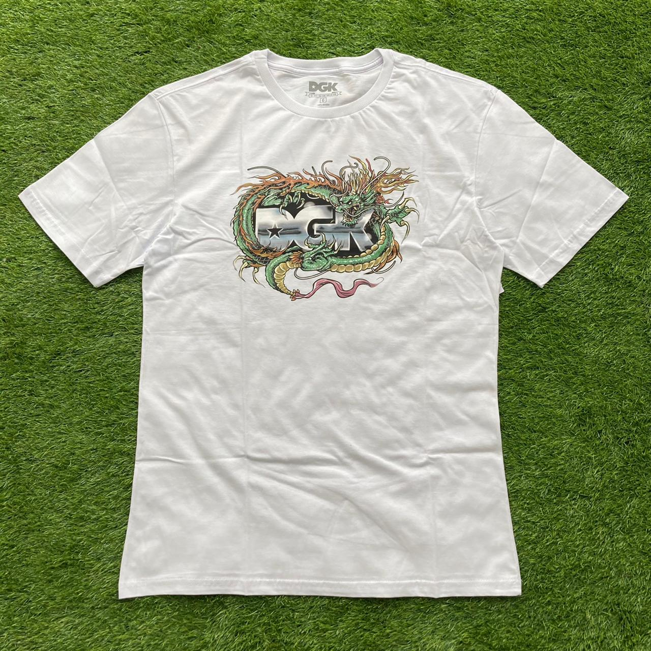 Camiseta dgk black metak white