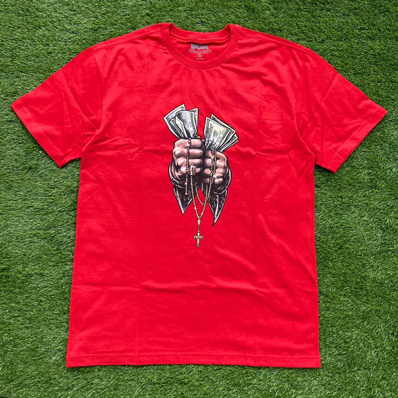 Camiseta dgk faith red