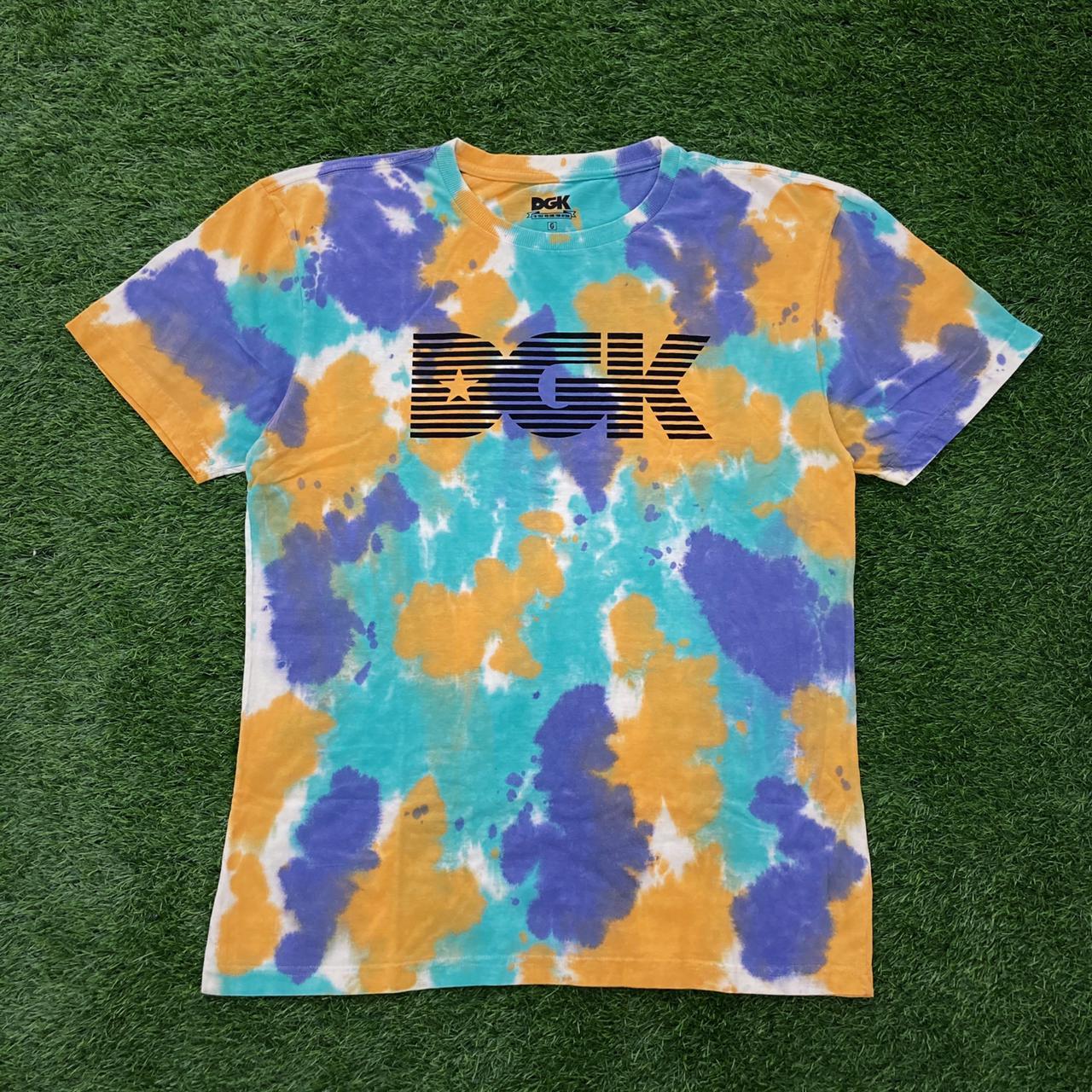 Camiseta dgk levels tie dye