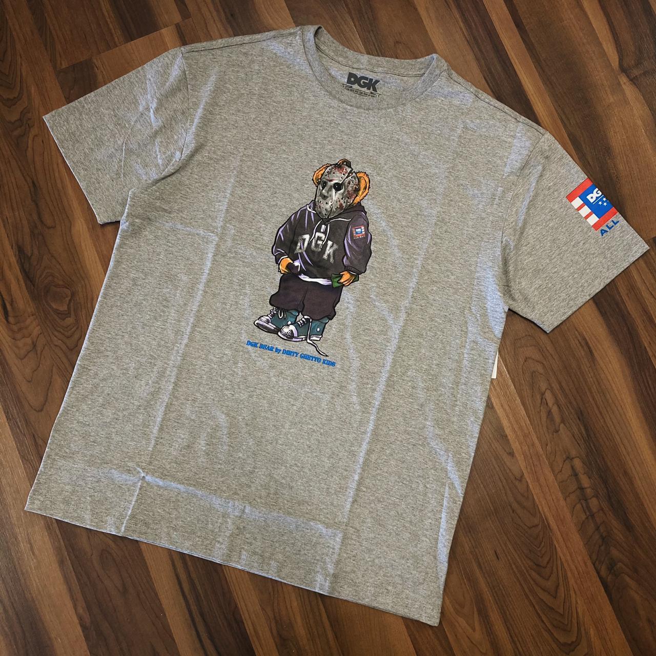 Camiseta dgk the plug cinza