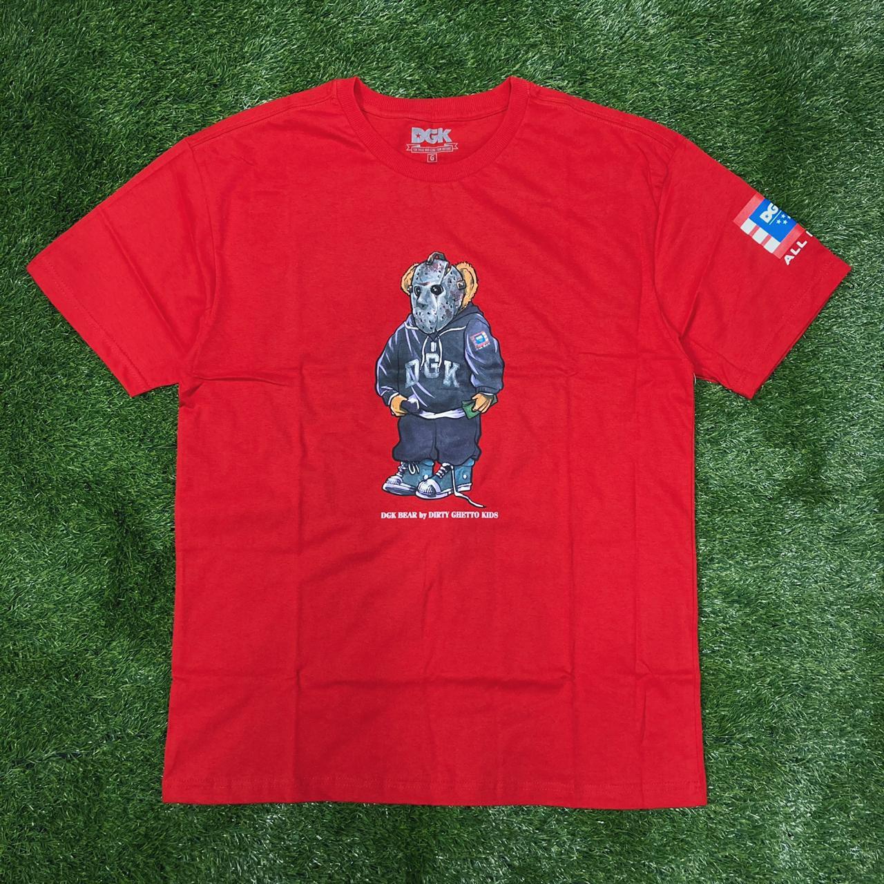 Camiseta dgk the plug red