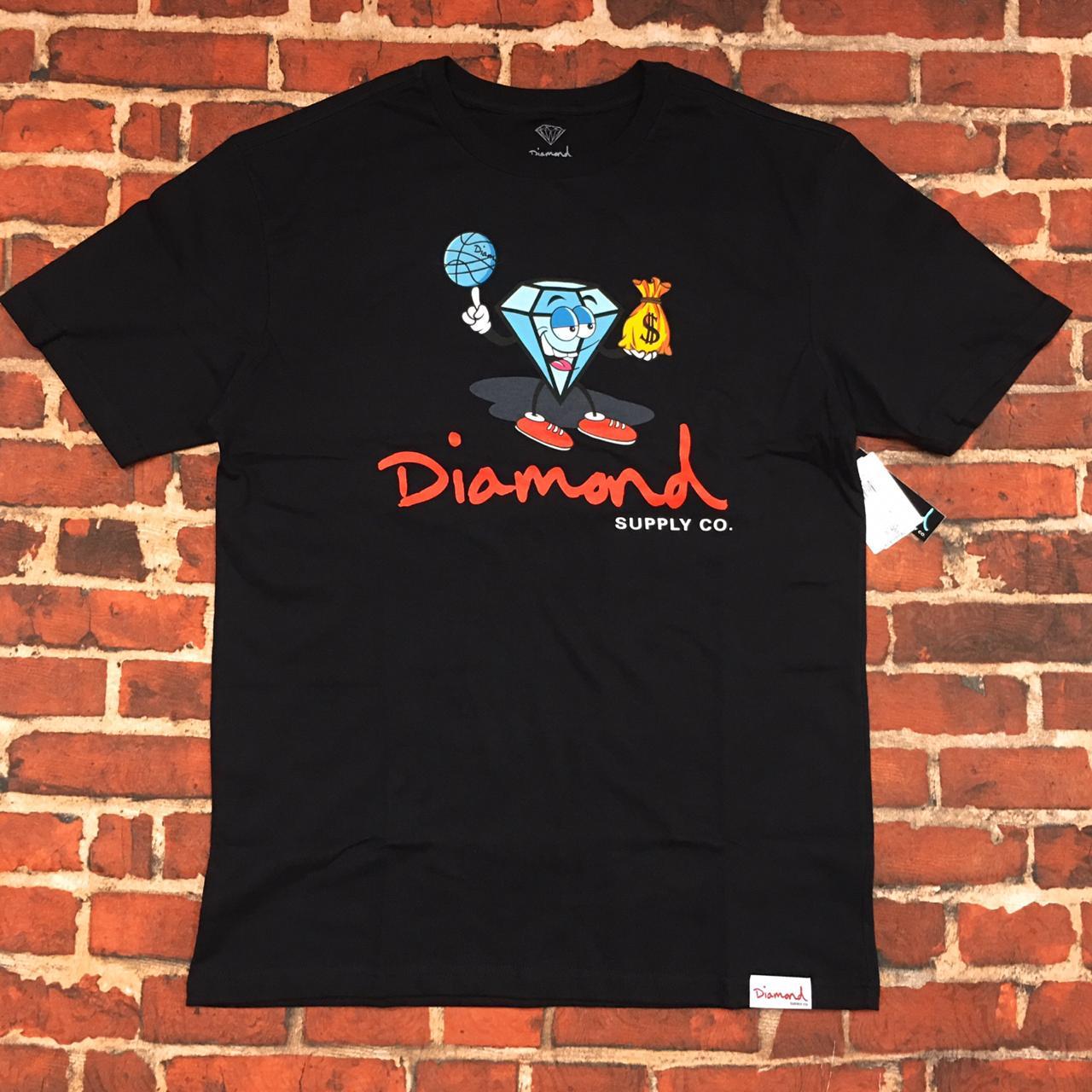 Camiseta Diamond hoop dreams
