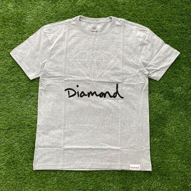Camiseta diamond og sign cinza