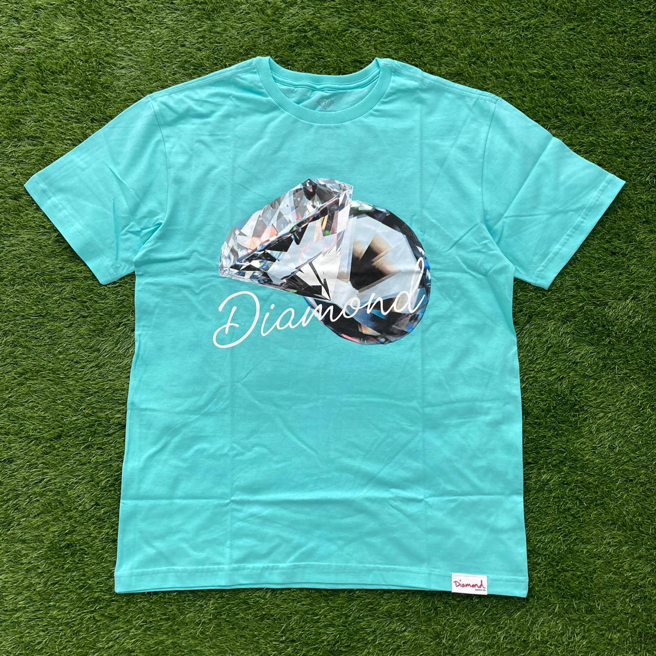 Camiseta diamond reflection dmd blue