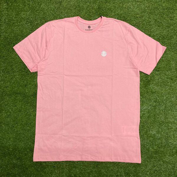Camiseta element basic crew rosa claro 0395