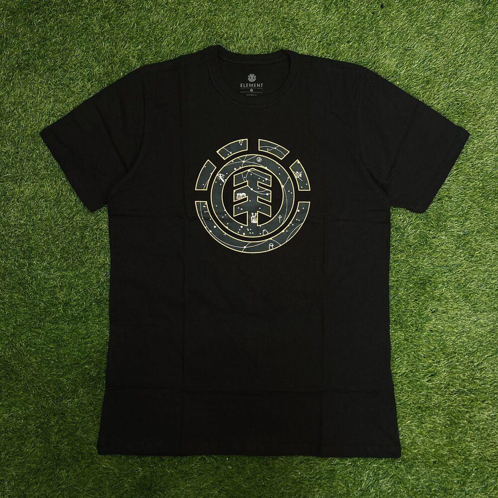 Camiseta element cookie galaxy preta 0407