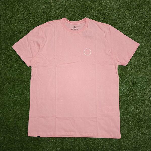 Camiseta element exley rosa claro 0400