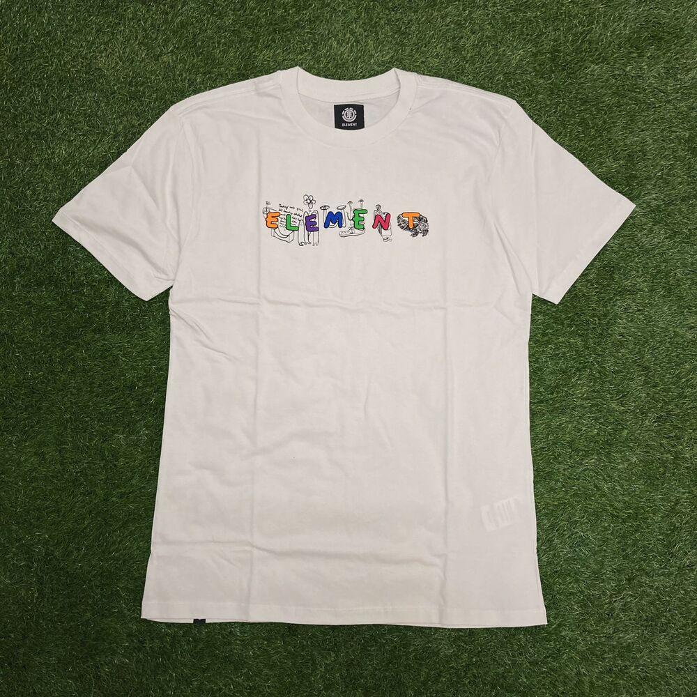 Camiseta element m/c galaxy off white 0082