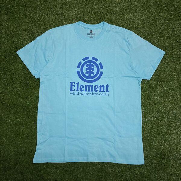 Camiseta element vertical azul claro 0396