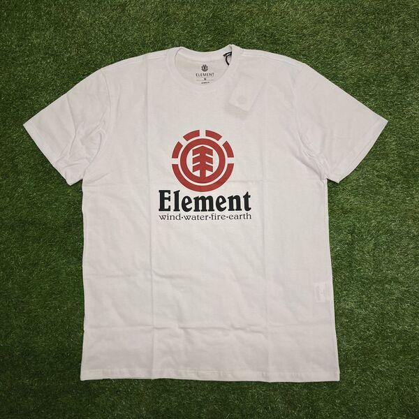 Camiseta element vertical branca 0396