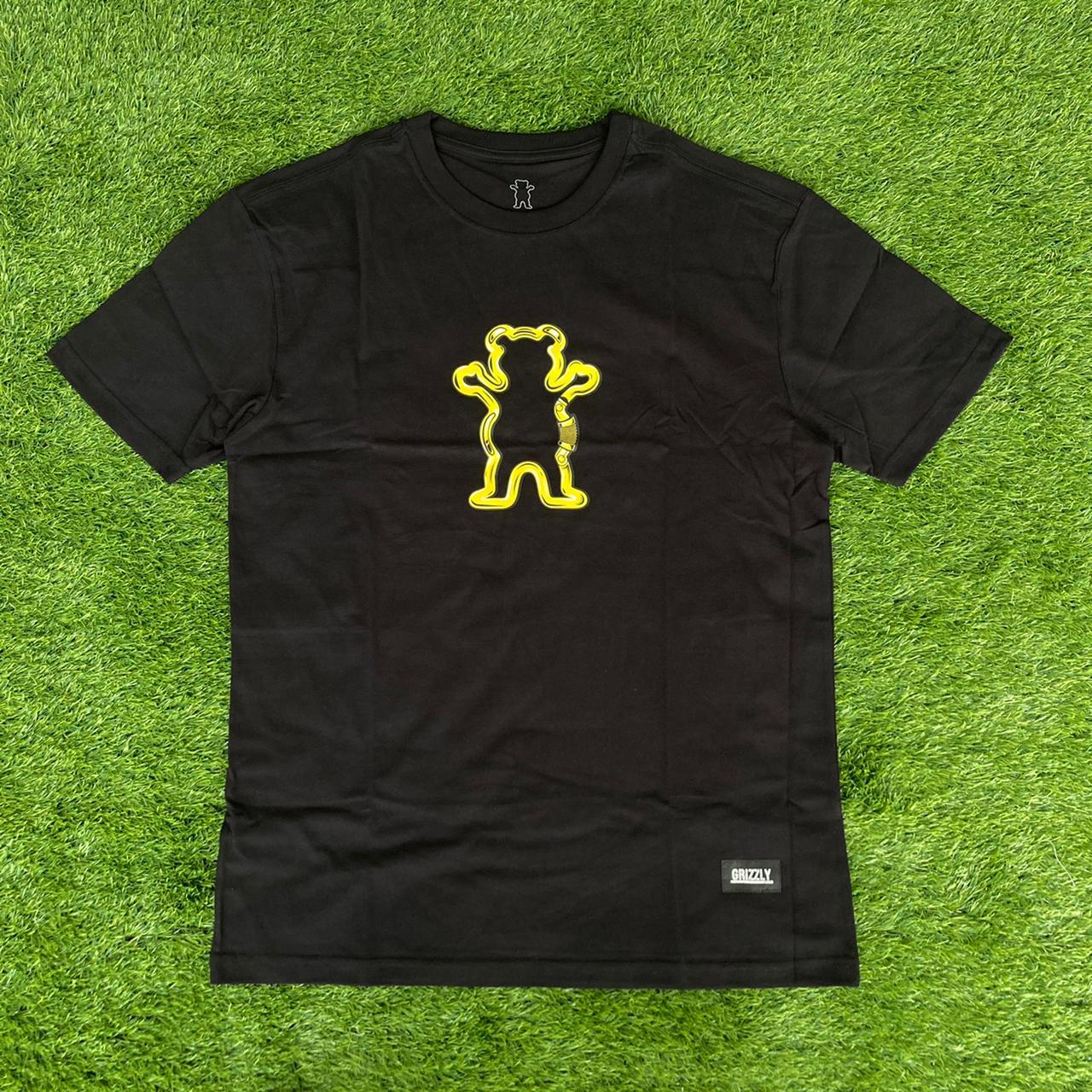 Camiseta grizzly carabiner black
