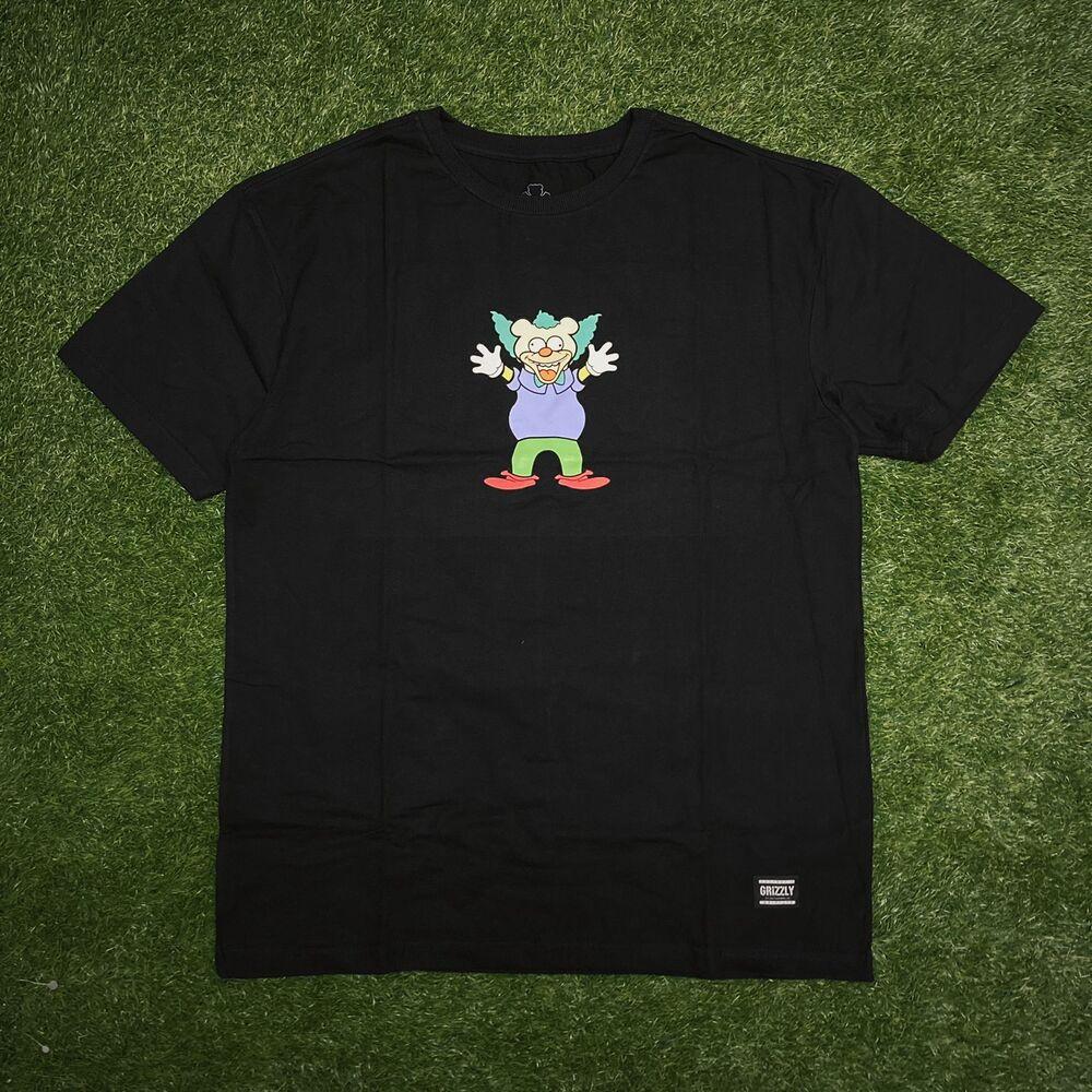 Camiseta grizzly clownin black