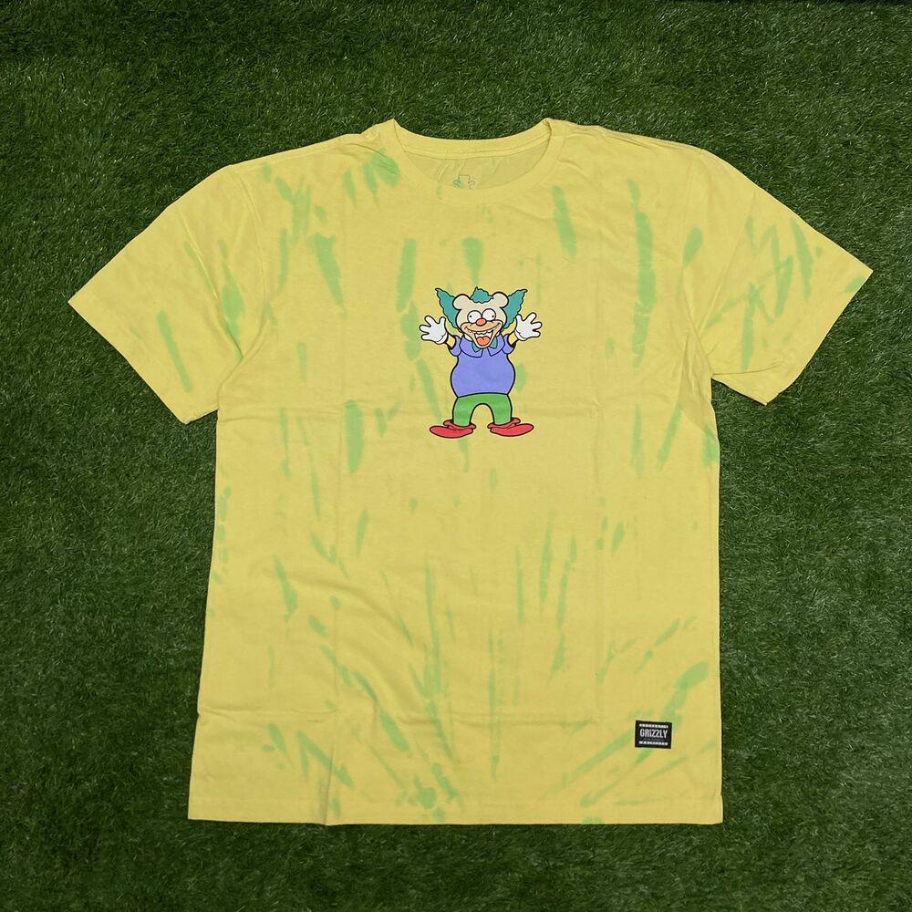 Camiseta grizzly clownin ss tie dye