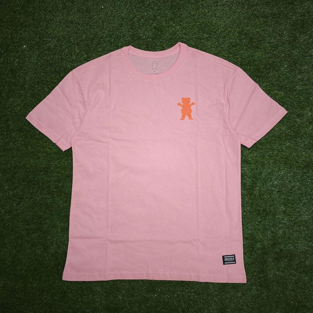 Camiseta grizzly mini og bear pink