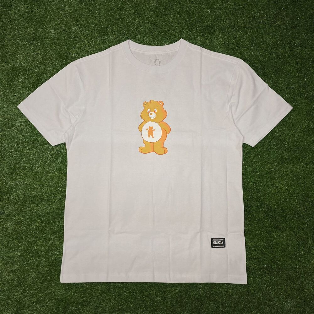 Camiseta grizzly positive bear white