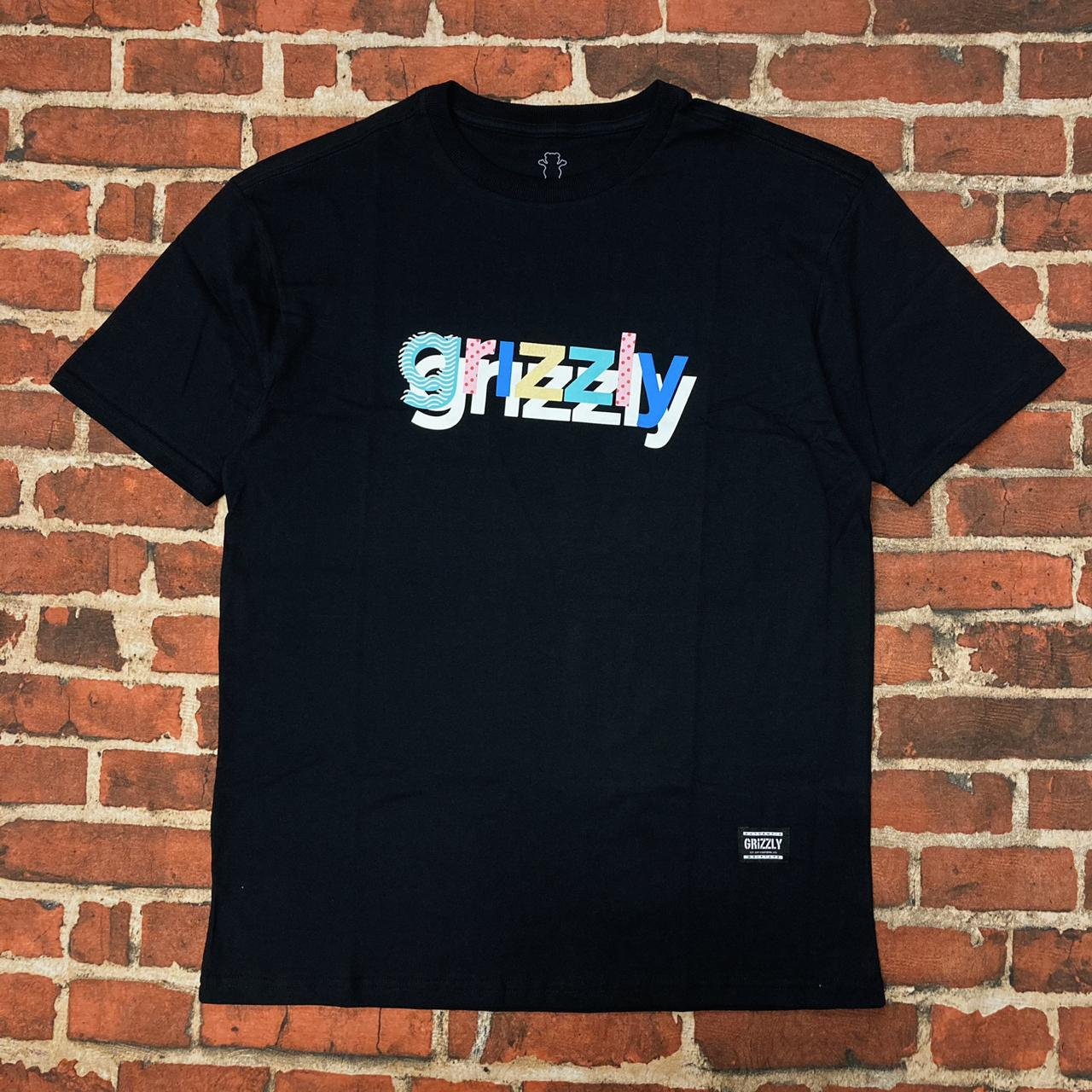 Camiseta grizzly to the max black