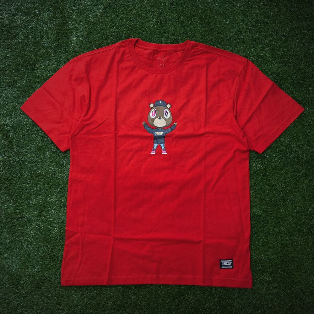 Camiseta grizzly touch the sky ss red