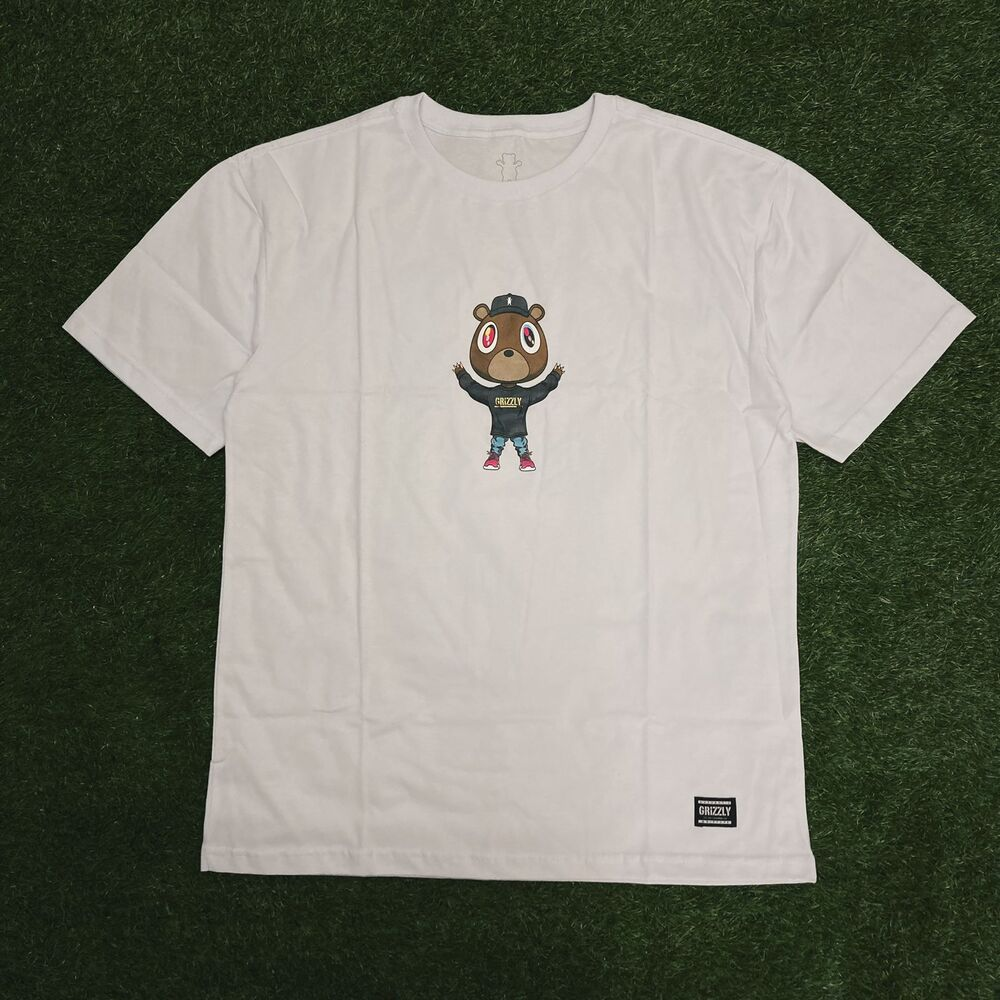Camiseta grizzly touch the sky ss white
