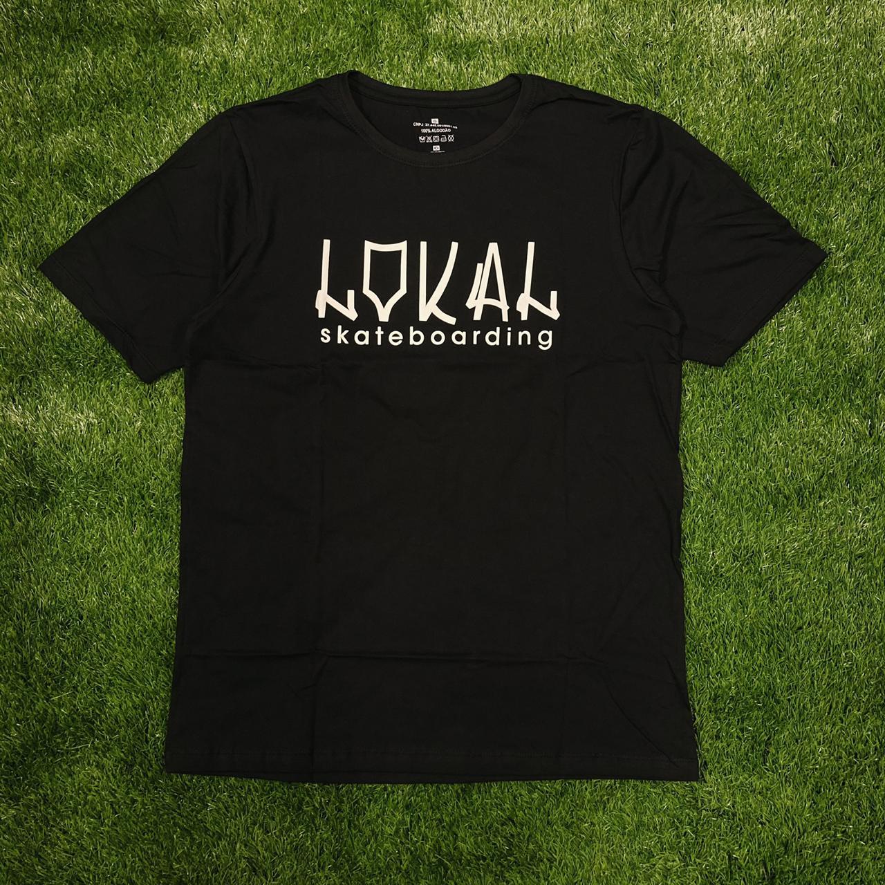 Camiseta lokal tag black