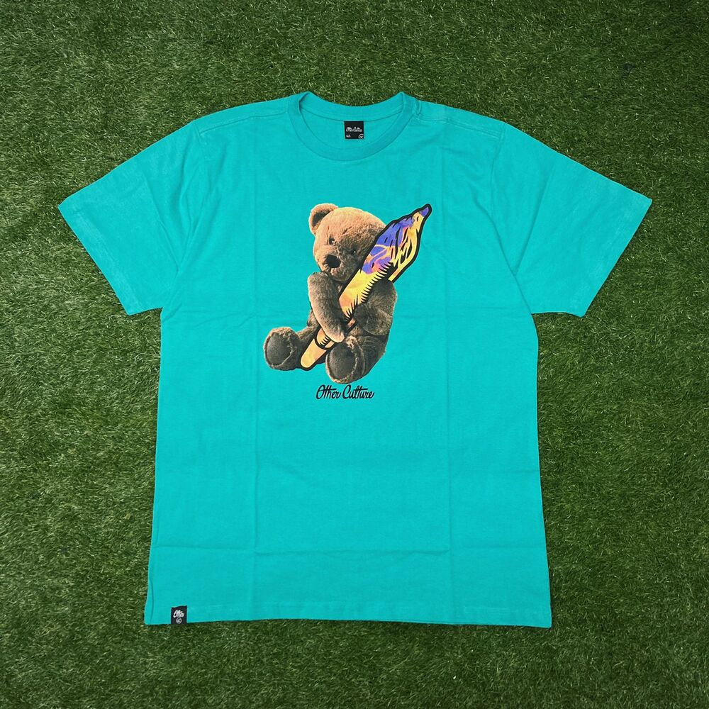 Camiseta Other Culture  Teddy Bear Verde 1714