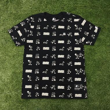 Camiseta starter esp tag black t573a
