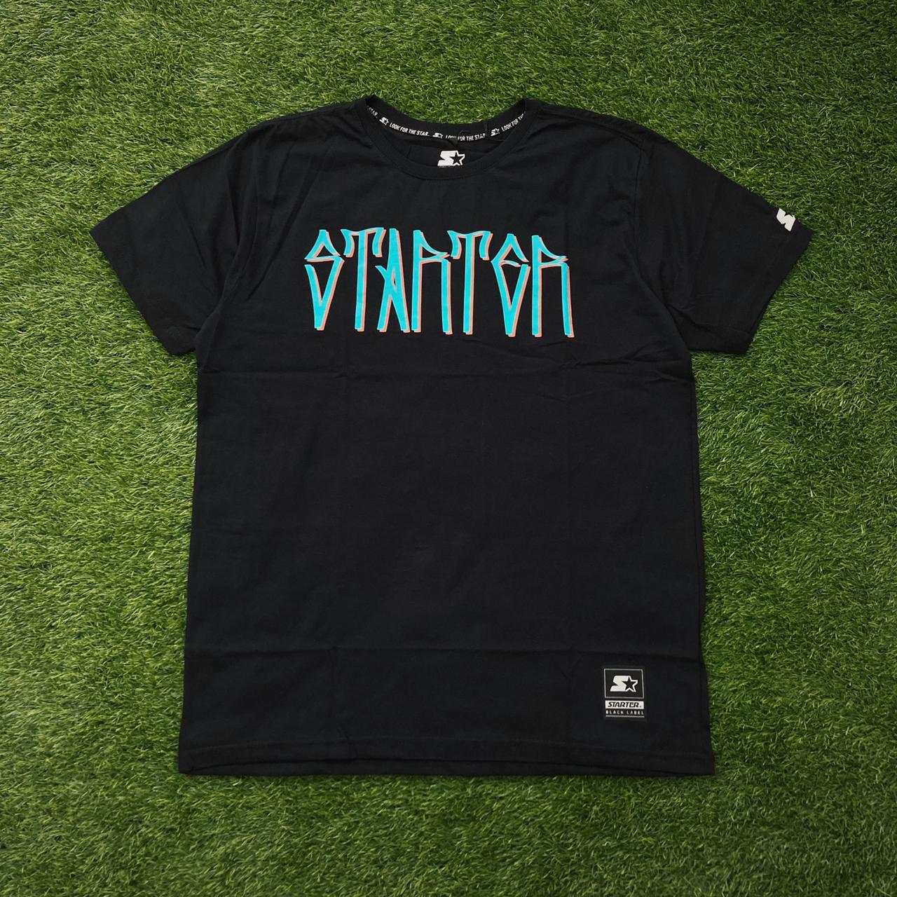 Camiseta starter pixo tag preta