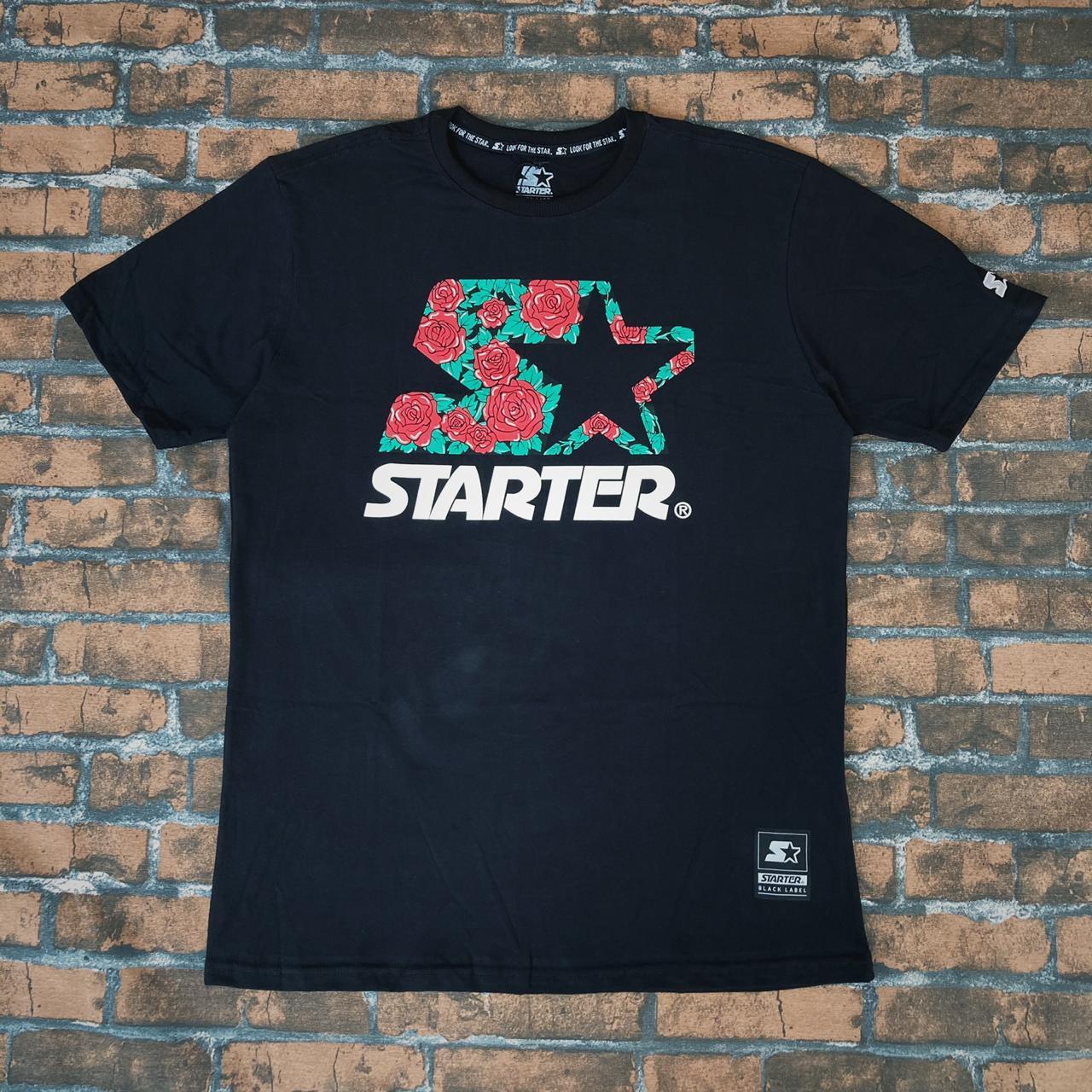 Camiseta starter preta t174a