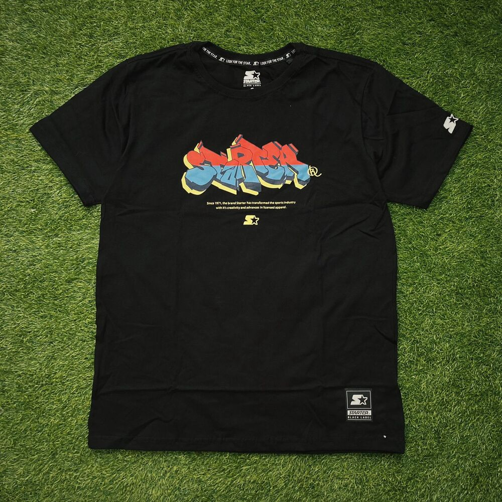 Camiseta starter preta t740a