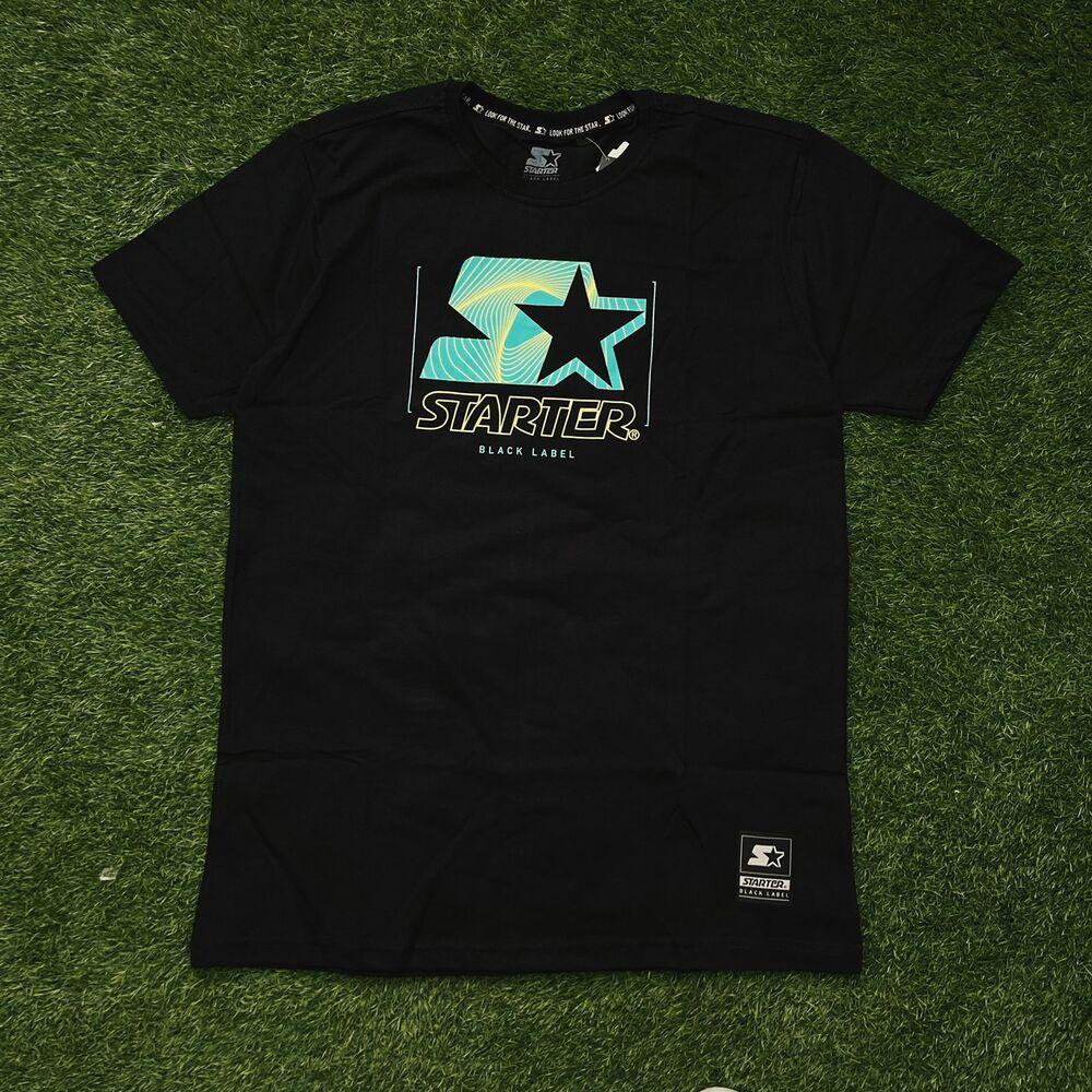 Camiseta starter preta t772a