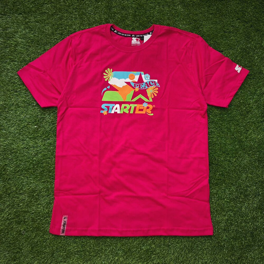 Camiseta starter rosa t719a