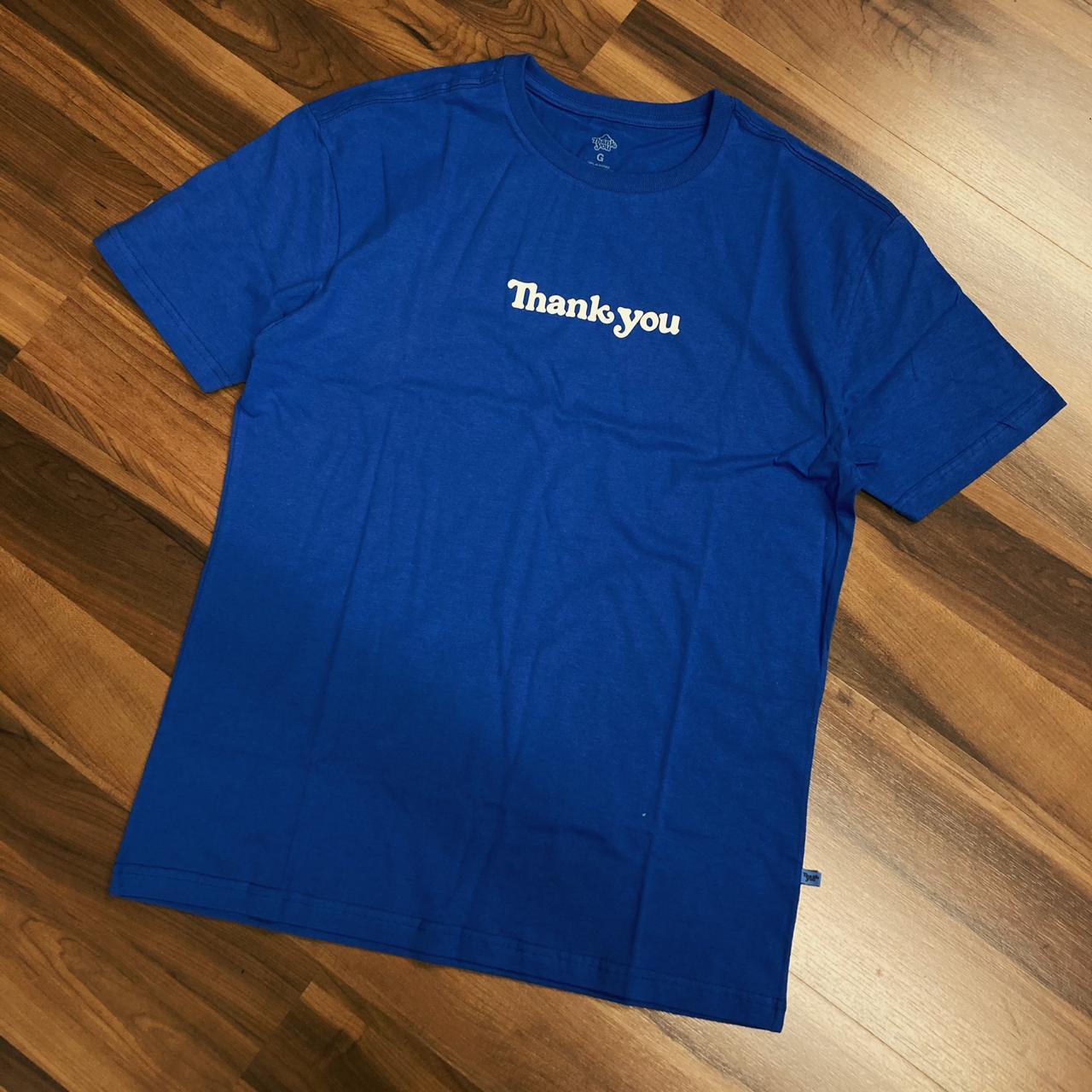 Camiseta thankyou center royal