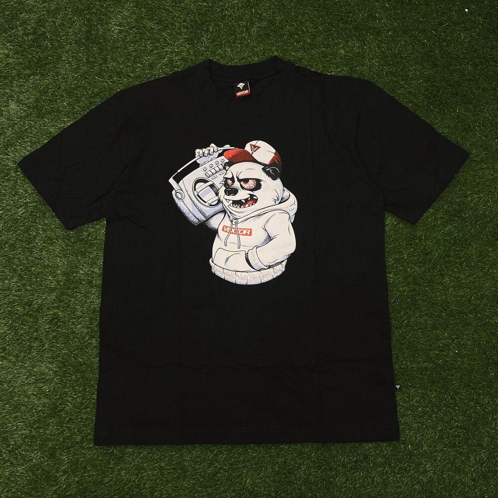 Camiseta vextor 0101 preta
