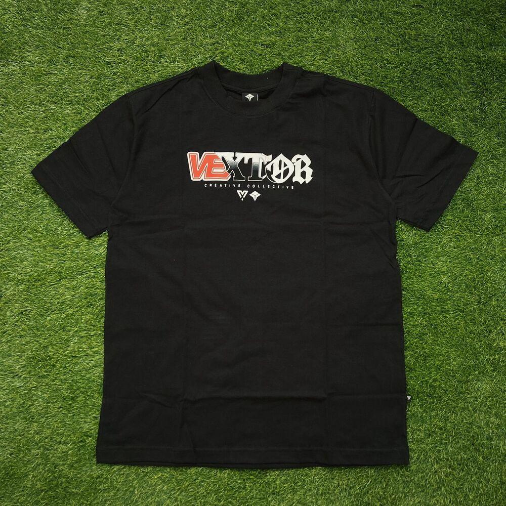Camiseta vextor 0102 black