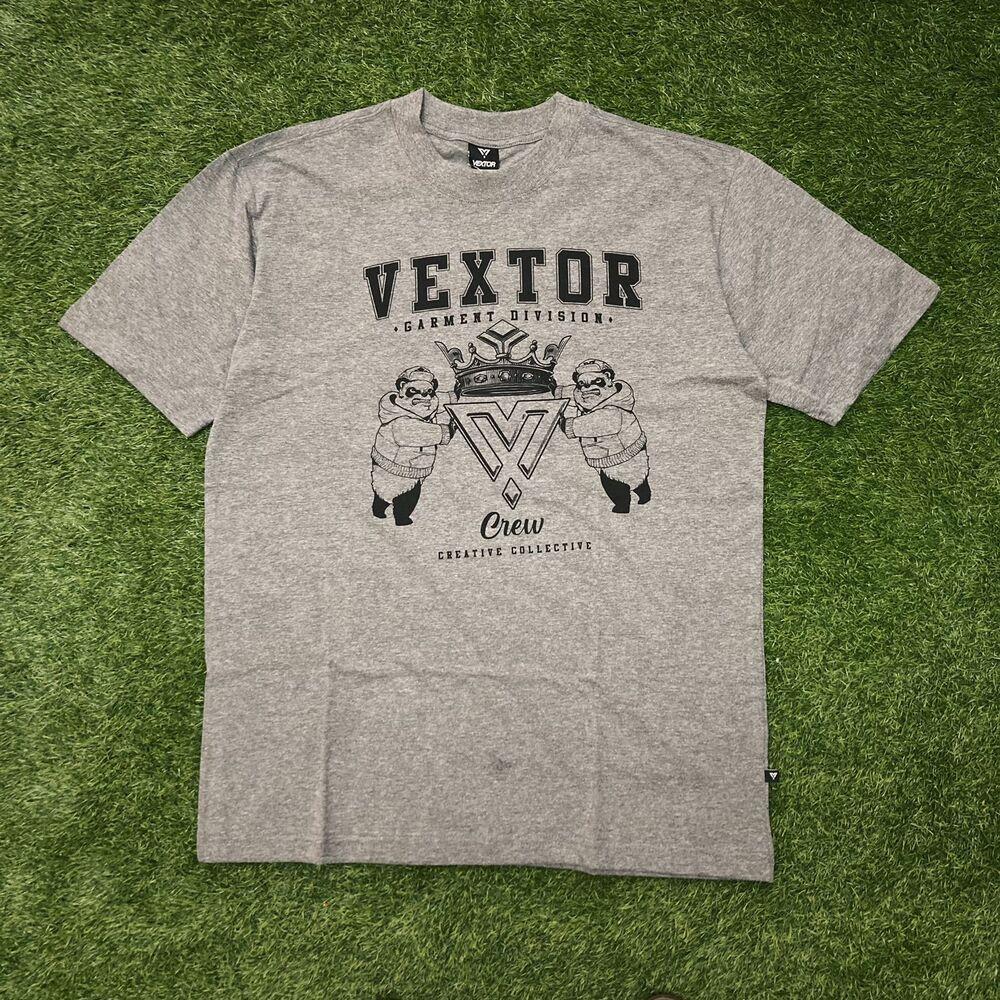 Camiseta vextor 0117 cinza mescla