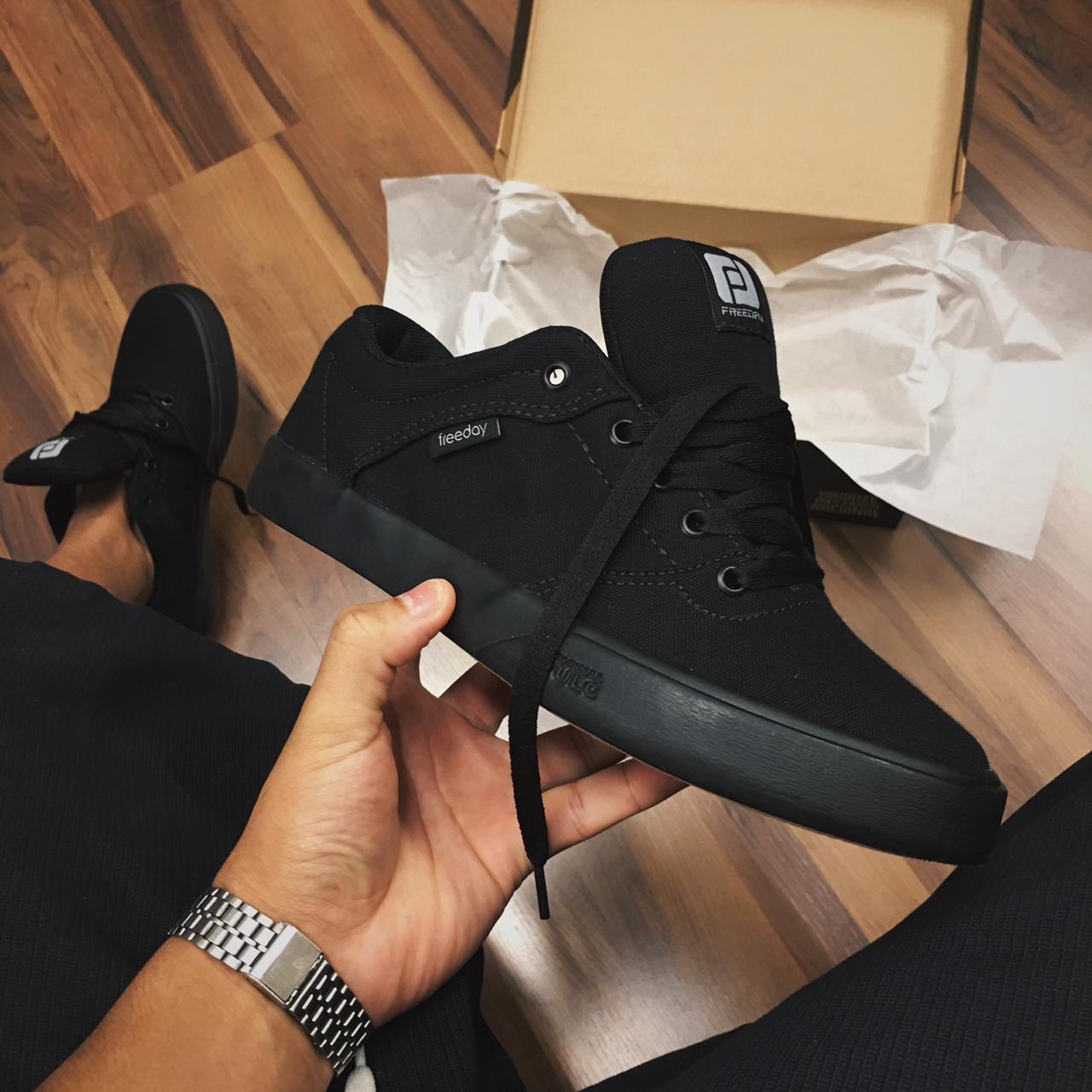 Tênis Freeday flip all black
