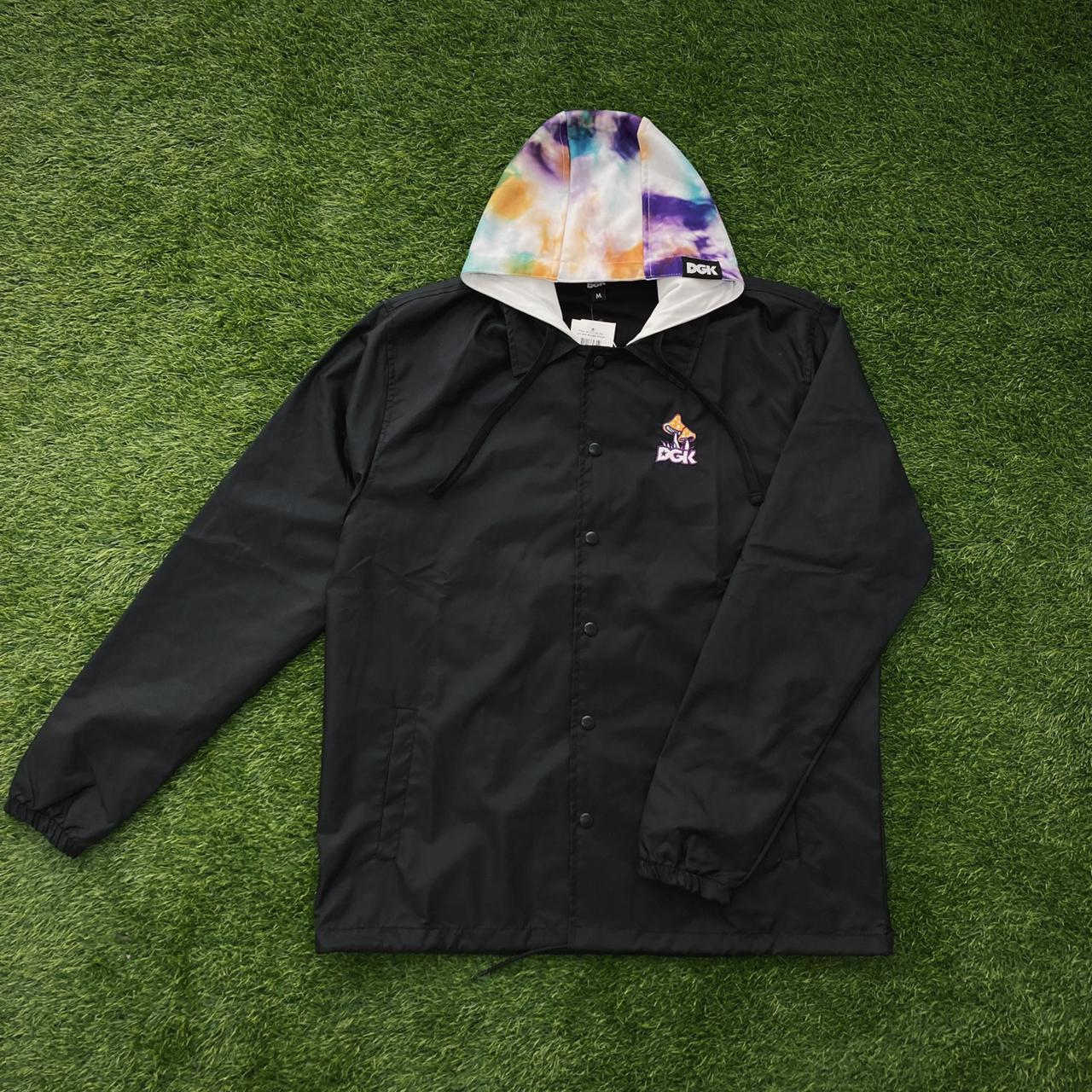 Jaqueta corta vento dgk liguid hoodie black