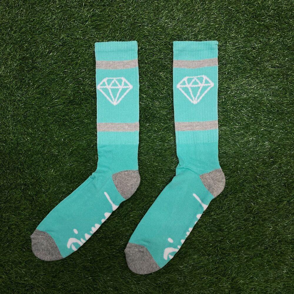 Meia diamond rock sports blue