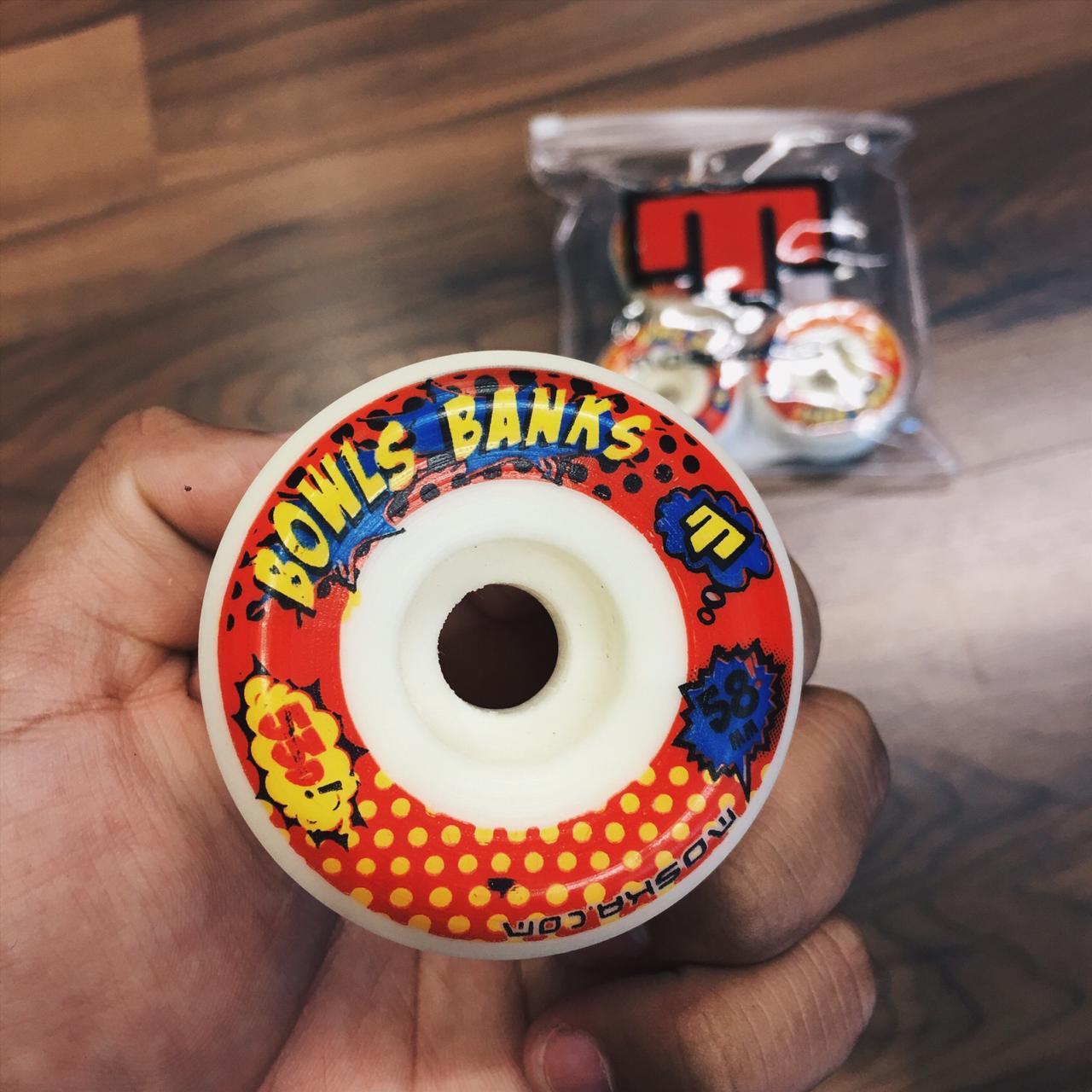 roda de skate Moska 58mm