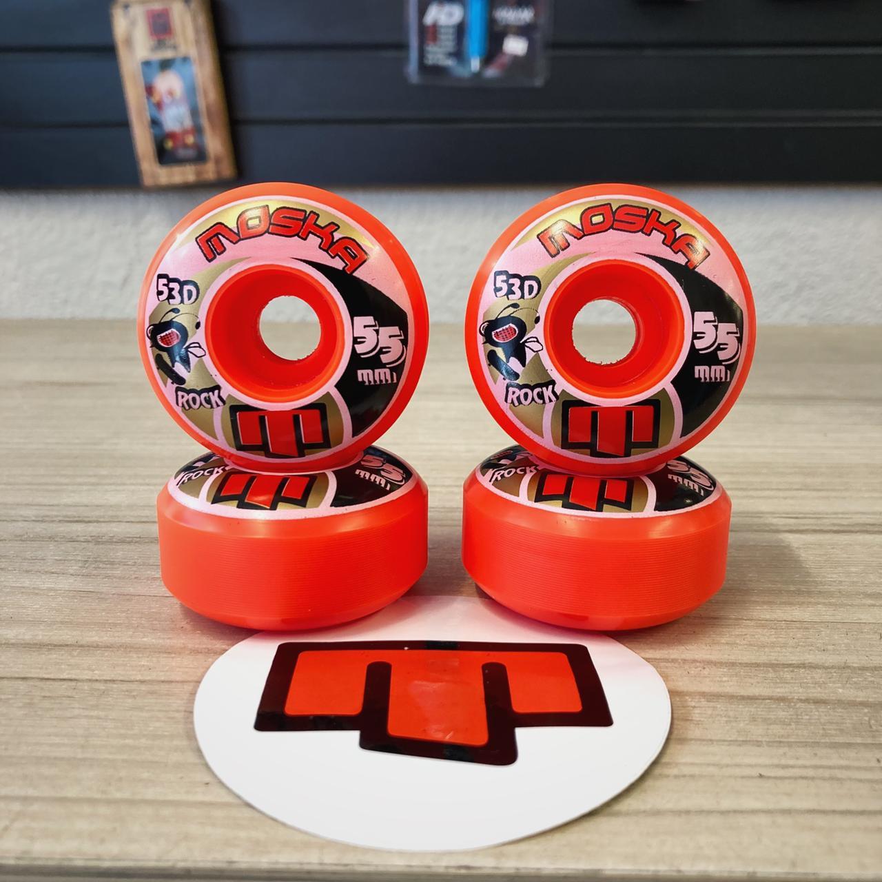Roda de skate moska 55 mm