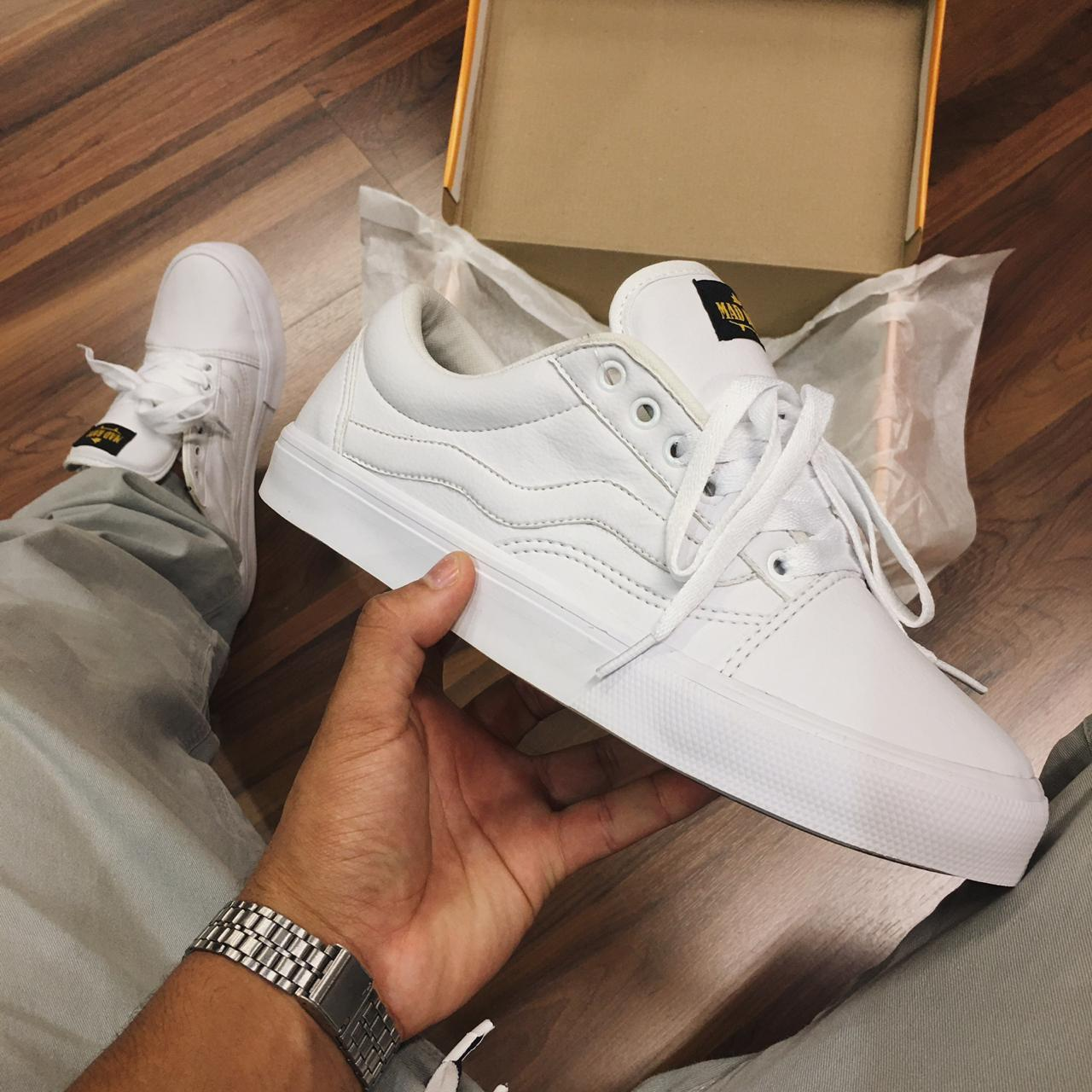 Tênis Mad Rats all white