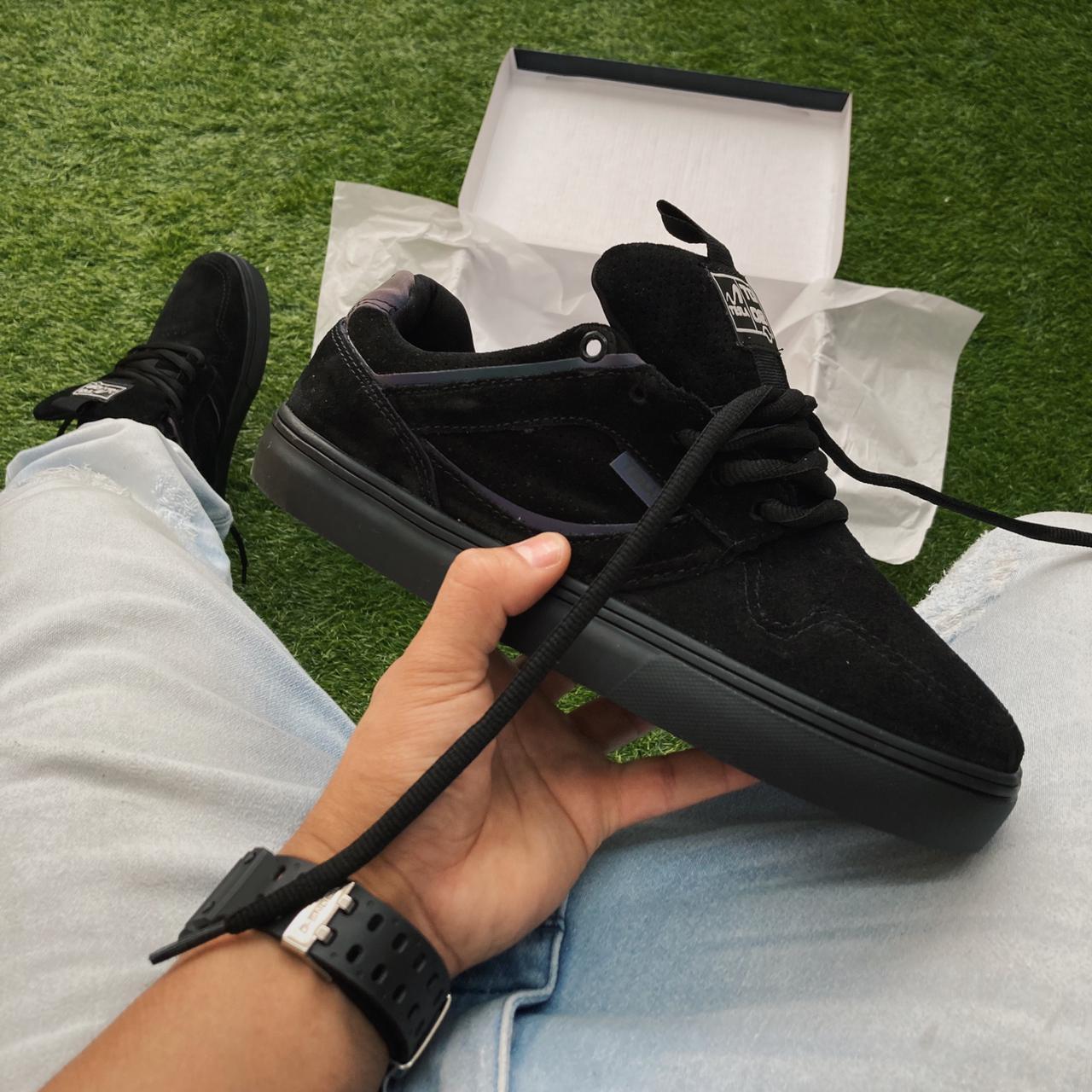 Tênis tesla tg 02 all black furtacor