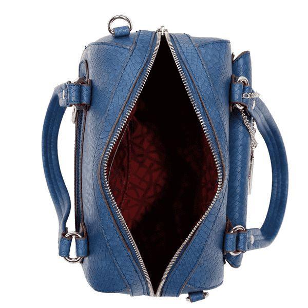 Bolsa Feminina Baú Fellipe Krein - FK80 Azul
