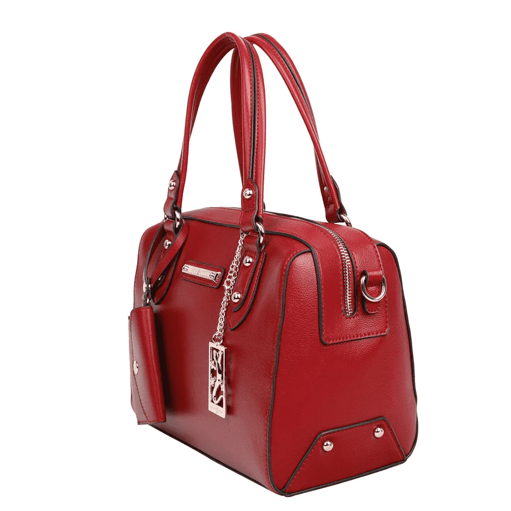 Bolsa Feminina Baú Fellipe Krein - FK158 Vermelha