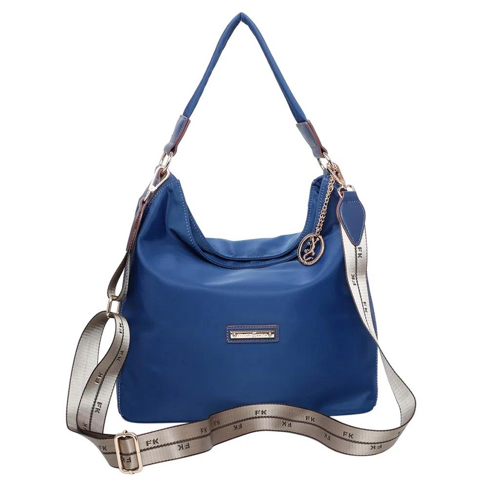 Bolsa Sacola FK343 - Nylon Casual Azul