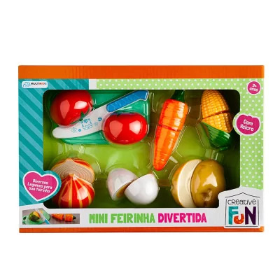 Creative Fun Mini Feirinha Divertida Legumes BR1108