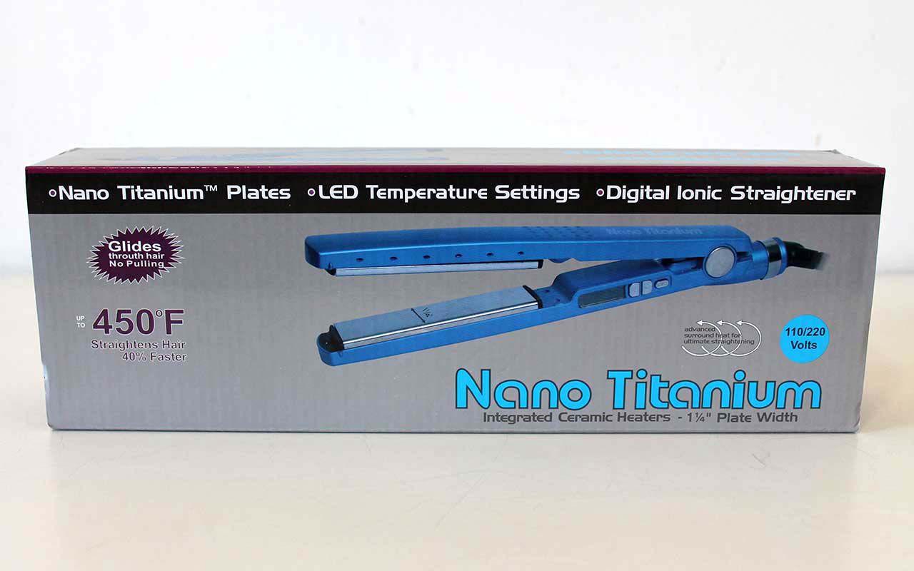 Prancha para cabelo Nano Titanium